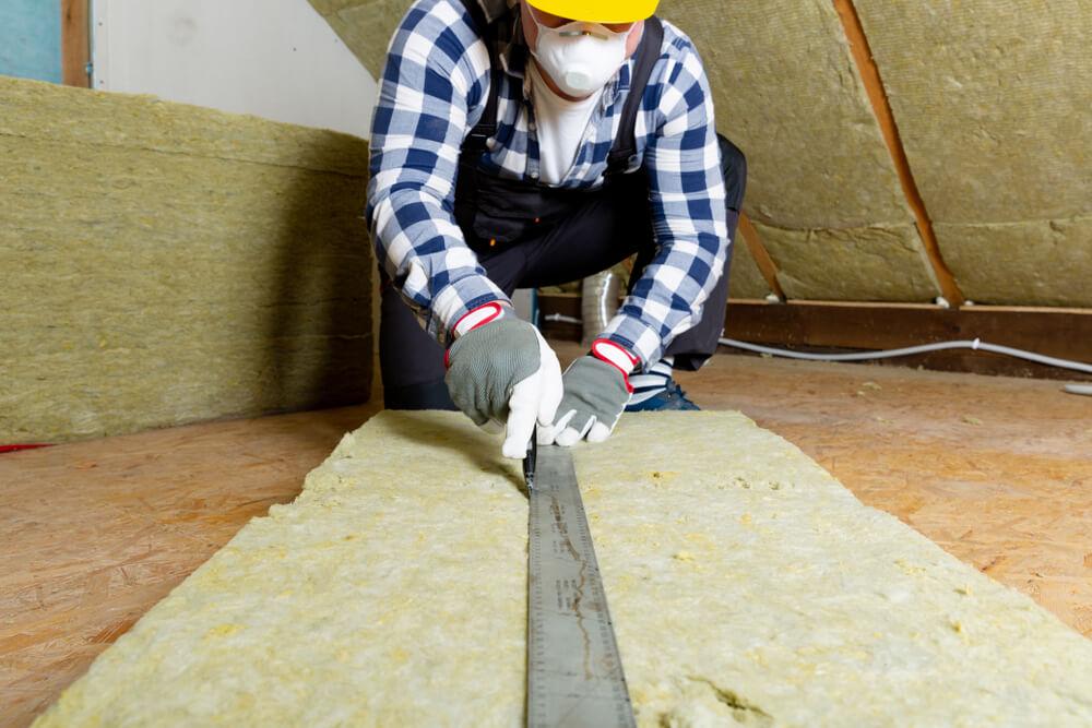 Zateplenie stropu minerálnou vatou Bratislava Naj Zateplenie