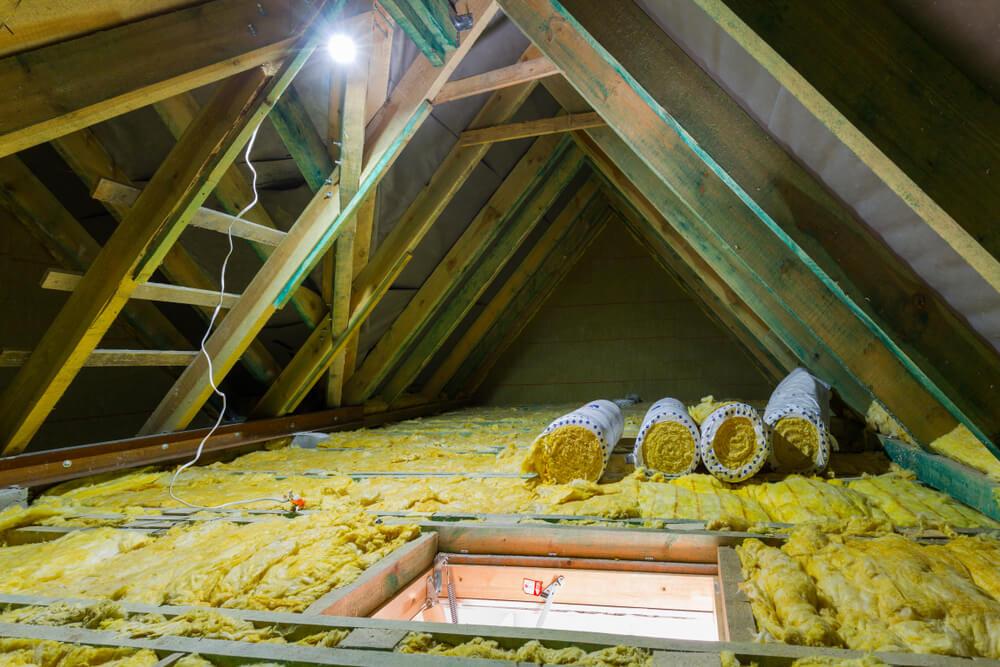 Zateplenie stropu z povaly Bratislava